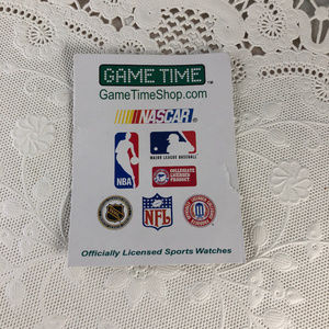 Game Time Accessories - Game Time with the Cubs MLB Baseball Watch NOS